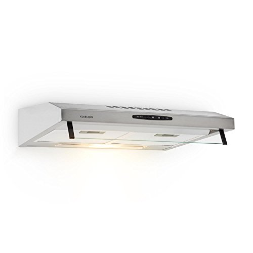 Klarstein UW60SF Cooker Hood - Recirculating Hood, 205m³/h Extraction...