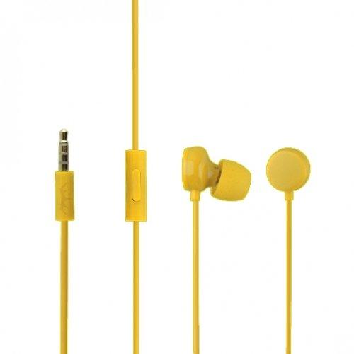 ORIGINALE NOKIA Headset WH di 208in giallo per lumia 635InEar cuffie in-Ear Cuffie Auricolari Auricolari 3,5mm spina Stereo Sound in confezione bulk