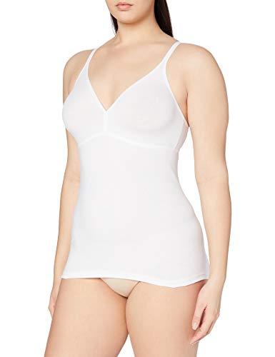 Triumph Damen Bügelloser Unterhemd Katia Basics BV, Weiß (White 03), Gr. 90C