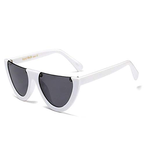 Gafas de Sol Vintage con Montura pequeña, Ojo de Gato, para Mujer, Negro 8