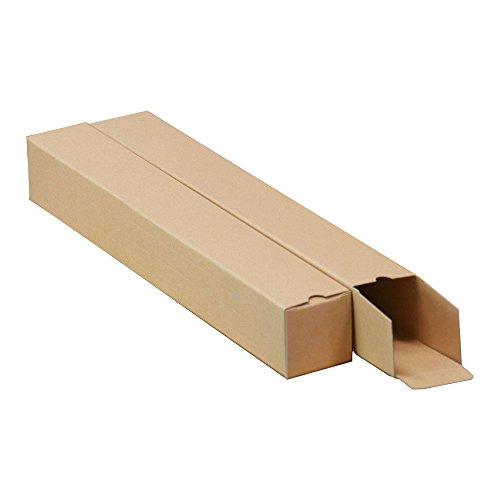 ボックスバンク 紙管 紙筒 ポスター カレンダー 収納 ダンボール箱 A2用(6cm幅)25枚セット MA01-0025