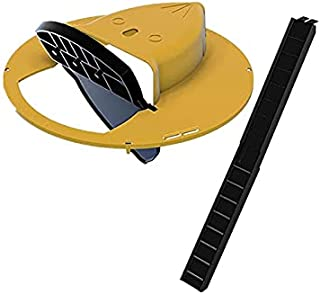 Flip Slide Bucket Lid Mouse Traps& with Ladder&No See Kill& Humane Mouse Traps Quick Effective Sanitary Safe Mousetrap Cat...