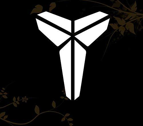 HavenSticks The King Kobe Logo Vinyl Decal Sticker - 7'' (White)