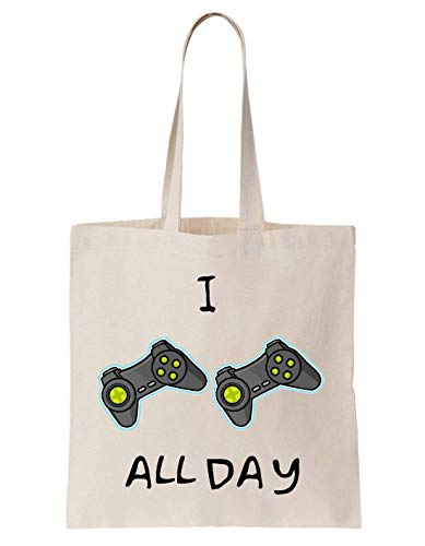 KRISSY Im Gaming All Day Remote Controllers Schultertasche Bag