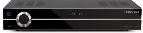 TechniSat DigiCorder HD S2 Plus Satellitenreceiver mit 500 GB Festplatte schwarz
