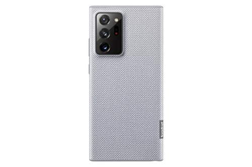 Samsung kvadrat Cover Smartphone Cover EF-XN985 für Galaxy Note20 Ultra 5G Handy-Hülle, dänisches Design, recyceltes Material stoßfest, Hülle, grau - 6.9 Zoll
