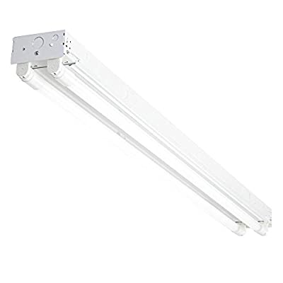 LED Strip Light - Great for Shops and Garages - Hardwire Installation - Replaceable Tubes Included
