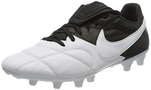 Nike The Premier II FG, Scarpe da Calcio Unisex Adulto, Bianco (White/White/Black 110), 40.5 EU