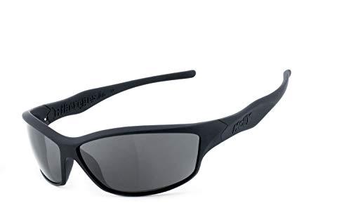 Helly® - No.1 Bikereyes® | SELBSTTÖNEND | Bikerbrille | Motorradbrille | beschlagfrei, winddicht, HLT® Kunststoff-Sicherheitsglas nach DIN EN 166 | Sportbrille