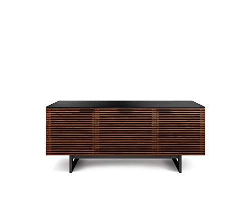 BDI Furniture Corridor Triple Wide Cabinet, Chocolate Stained Walnut