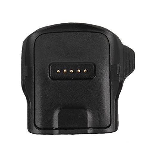 FeelMeet Cargador de Ajuste Cargador de Cuna Muelle Compatible con Samsung Galaxy Gear Fit R350 Smart Watch
