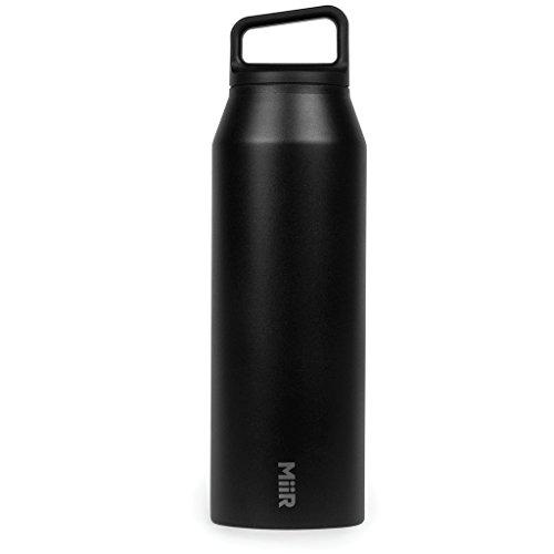 MiiR Sqlab Thermosflasche, schwarz, 1242 ml