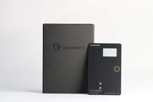 CoolWalletS(クールウォレットS) -仮想通貨 マルチカレンシー ハードウェアウォレット-