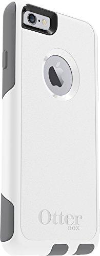 OtterBox COMMUTER SERIES iPhone 6/6s Case - Retail Packaging - GLACIER (WHITE/GUNMETAL GREY)