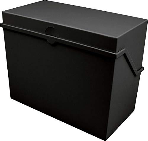 Helit - Tarjetero pequeño A8, color negro