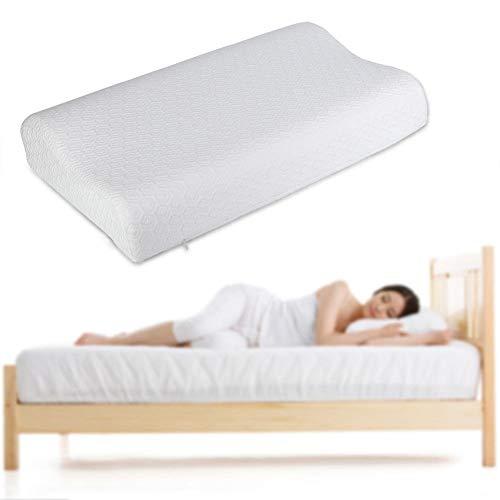 Memory Pillow, Comfortabel Ergonomisch Memory Foam Kussen Zacht Bed Kussen voor Volwassenen Mannen Vrouwen Beter Slapen