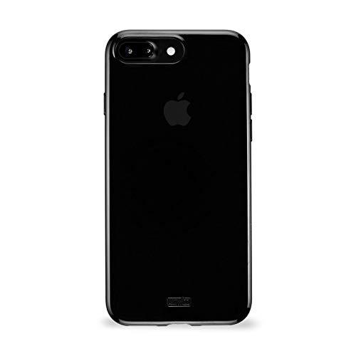 Artwizz 3280-2020 NoCase Hülle für iPhone 8 Plus, 7 Plus - Schutzhülle mit 0.8mm dicke aus elastischem TPU Material - Schwarz
