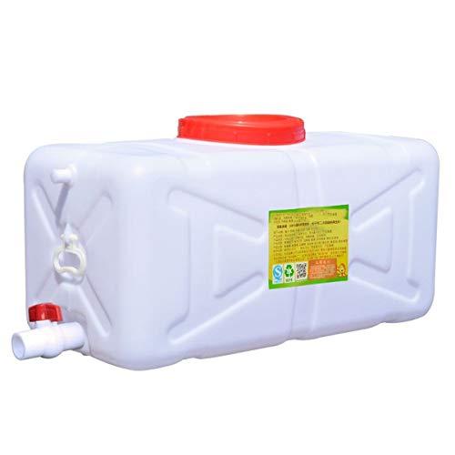 RSH Bidón Plástico con Grifo Gran Capacidad Contenedores De Agua Almacenamiento De Agua Cubo De Agua Portátil Tanque De Agua del Coche Beber De Emergencia Caravanas Al Aire Libre Camping Senderismo