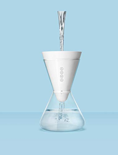 Soma Waterfilter Pitcher Carafe + Filter 6-Cup Kleur: wit