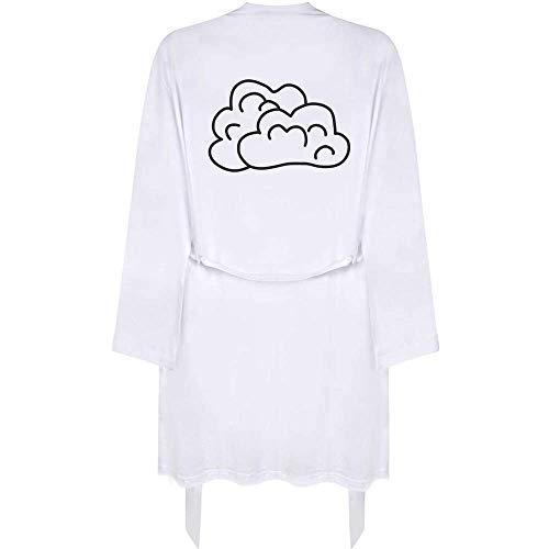 Azeeda Klein 'Flauschige Wolken' Erwachsene Dressing Robe / Kleid (RO00015889)