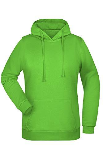 Guuja Sweat à Capuche Hoodie pour Femme Sweat à Capuchon en Lime-Green Taille: 3XL