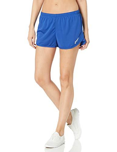 ASICS Women's Rival Ii 1/2 Split Shorts, Royal, Medium