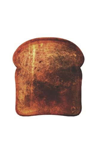 Toasts: Din A5 cadeau portable Grille-pain avec 120 pages