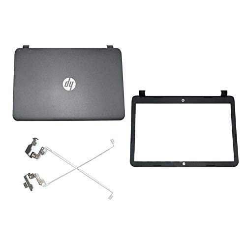 NODRLIN New for HP 15-G 15-R 250 256 255 G3 15-H LCD Back Cover & Front Bezel & Hinges 749641-001 AP14D000200 749655-001