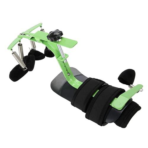 MTYQE Ejercitador de ortesis de muñeca para el Dedo, Riel de muñeca Entrenamiento de rehabilitación de la Mano ortopédica para la Carrera de hemiplejía del Paciente, Ejercicio de Dedo