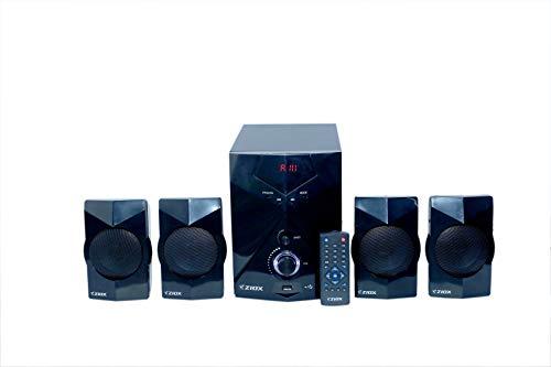 Ziox ZX 401 4.1 Channel Multimedia Speaker - Black