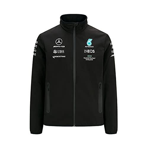 Mercedes AMG Petronas Softshell Motorsport Team F1 Formula Driver Negro XL