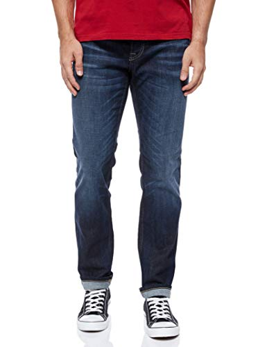 JACK & JONES Herren JJVCClark Original JOS 318 NOOS Jeans, Blue Denim, 36W / 32L