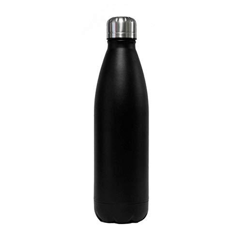 Biodora Edelstahl Thermoflasche schwarz (750 ml) - DORAs