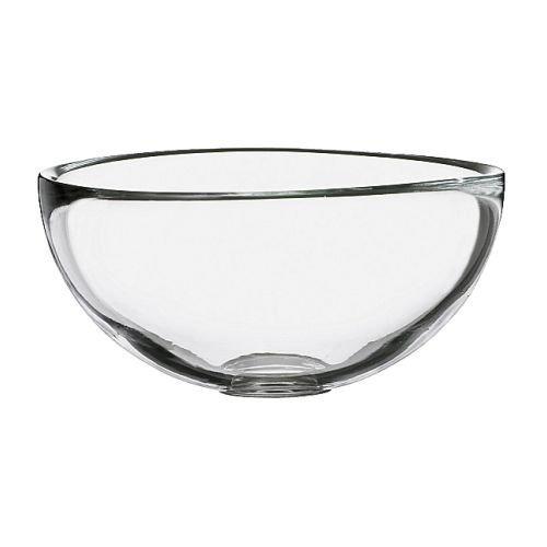IKEA BLANDA Schüssel aus Klarglas; (12cm)