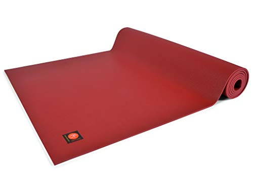 Chin Mudra Tapis de Yoga Excellence Mat - 185cm x 63cm x 6mm 100% Latex - Bordeaux