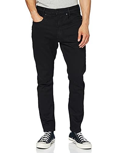 G-STAR RAW Herren Jeans D-staq 5-pocket Slim, Schwarz (Pitch Black B479-A810), 38W / 40L
