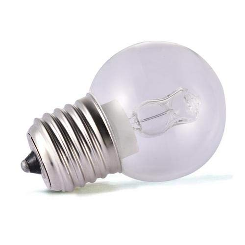Rich-home E27 40 W forno fornello lampadina lampadina ven nominale lampadine, resistente al calore, luce di tungsteno, 0,87 x 1,87 cm