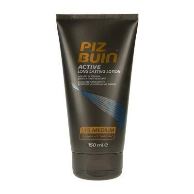 Piz Buin Active Long Lasting Lotion SPF15 Medium (150ml) by Piz Buin