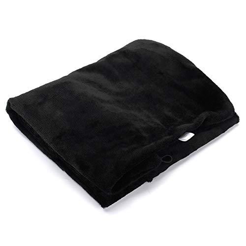 Xin Hai Yuan 5V 4W Eléctrico Calentamiento Calefacción Manta Cojín del Cuello del Hombro Móvil Calefacción Mantón Suave USB Ourdoor Suave Climatizada Mantón para El Hogar/Coche,Negro