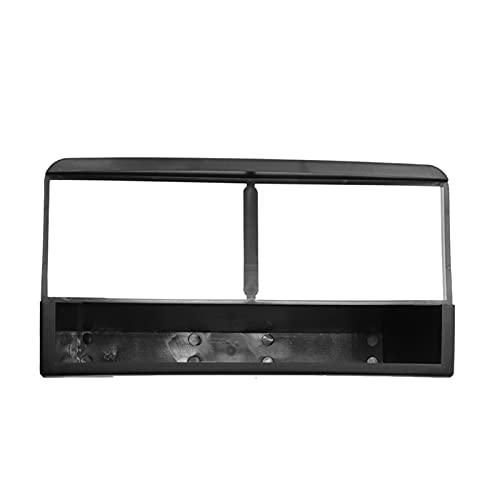 fangyuan Radio estéreo de la fascia de un solo coche DVD Player Plate Plate Frame Audio Dash Sopt Adapter Bezel Fit para Ford Fiesta Focus 1998-2006