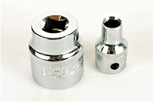 SALTUS 1/2' dopsleutelset 9-12 mm professionele moer CV 2-delige set 5201