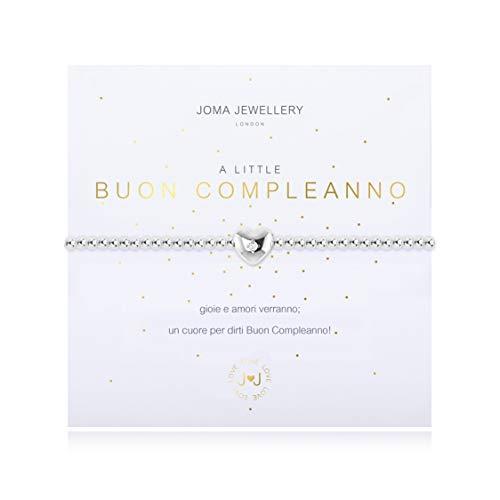 Joma Jewellery A Little BUON Compleanno Bracelet Italian