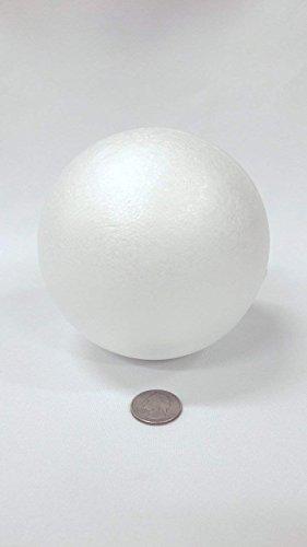"""3Pk Floracraft BA2H Styrofoam Balls 12//Pkg-2/"""""""