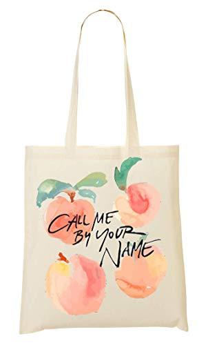 Call Me By Your Name Peaches Sacchetto Di Tote Bag