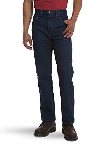 Rustler Classic Men's Regular 5 Pocket Jean, Prewash, 42W x 32L