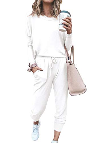 ETCYY NEW Lounge Sets for Women Sweatsuits Sets Two Piece Outfit Long Sleeve Pant Workout Athletic Tracksuits