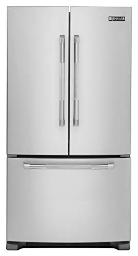 Jenn-Air Pro-Style Counter-Depth Stainless Steel French Door Bottom Freezer Refrigerator