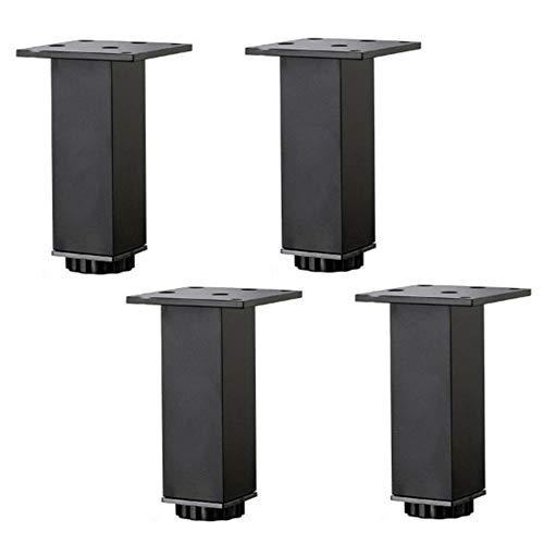 Verstellbare Möbelfüße, Ersatzfüße für Küchenschränke, Badezimmerschränke, Büromöbel, Möbelstützfüße (4 Stk.)-40cm