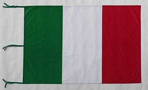ns produzione bandiere Bandiera Italia 100x150 cm. Tessuto a Scelta (Stamina Nautica (qualità Migliore))