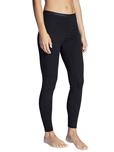 CALIDA Damen Natural Comfort Leggings Unterrock, Schwarz, 40